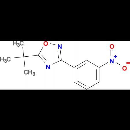 5-(tert-Butyl)-3-(3-nitrophenyl)-1,2,4-oxadiazole