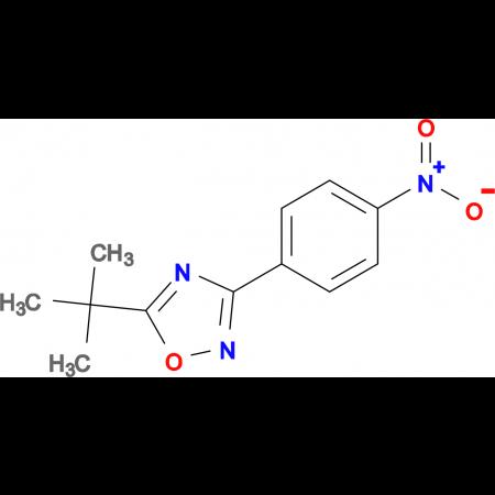 5-(tert-Butyl)-3-(4-nitrophenyl)-1,2,4-oxadiazole