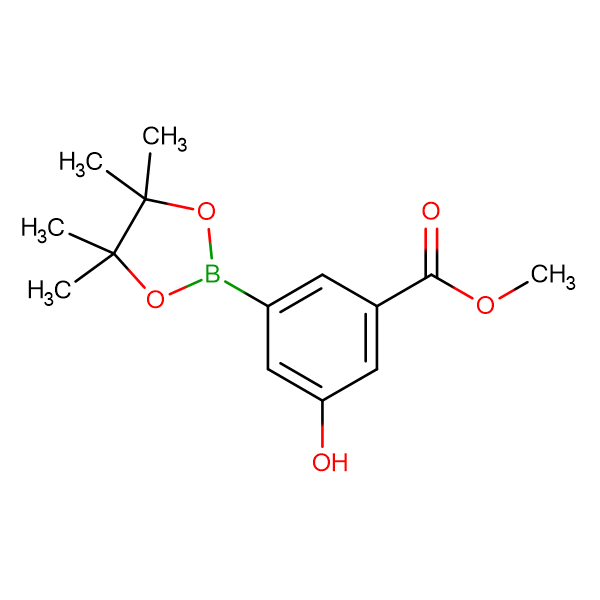 Methyl 3-hydroxy-5-(4,4,5,5-tetramethyl-1,3,2-dioxaborolan-2-yl)benzoate