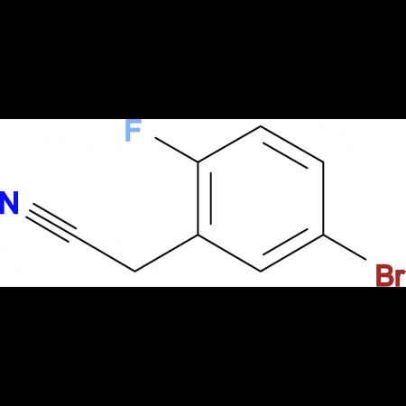 2-(5-Bromo-2-fluorophenyl)acetonitrile