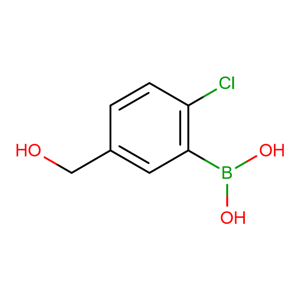 2-Chloro-5-hydroxymethylphenylboronic acid