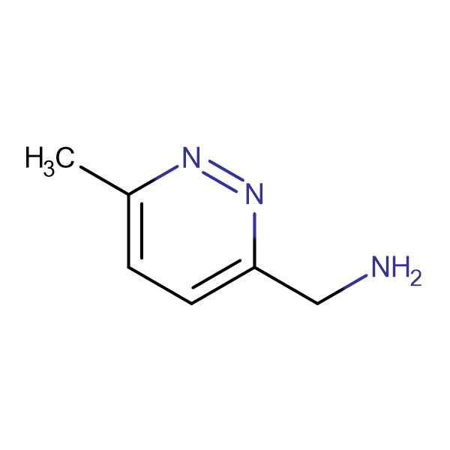 1-((6-Methylpyridazin-3-yl))methanamine
