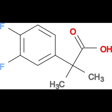 2-(3,4-Difluorophenyl)-2-methylpropanoic acid