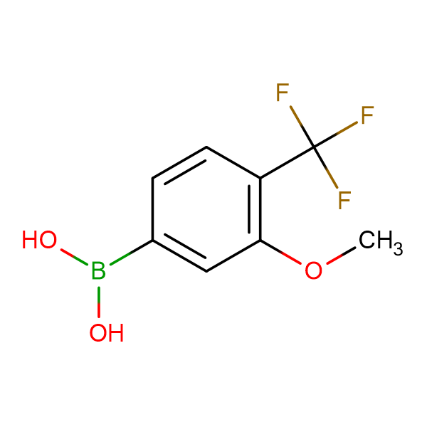 (3-Methoxy-4-(trifluoromethyl)phenyl)boronic acid
