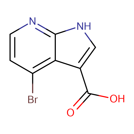 4-Bromo-1H-pyrrolo[2,3-b]pyridine-3-carboxylic acid