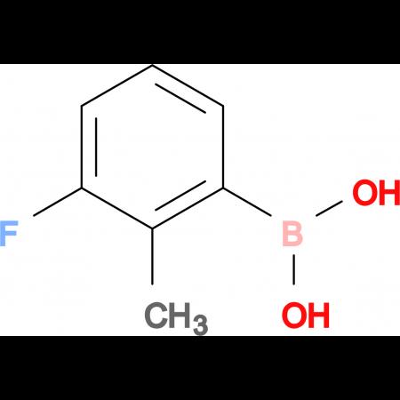 (3-Fluoro-2-methylphenyl)boronic acid