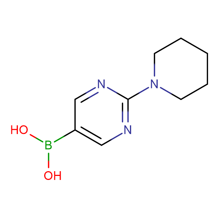 (2-(Piperidin-1-yl)pyrimidin-5-yl)boronic acid
