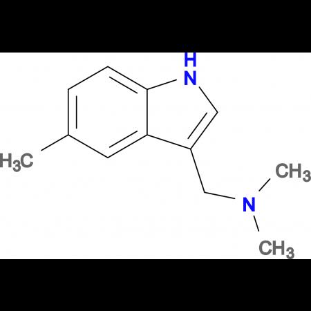 N,N-Dimethyl-1-(5-methyl-1H-indol-3-yl)methanamine