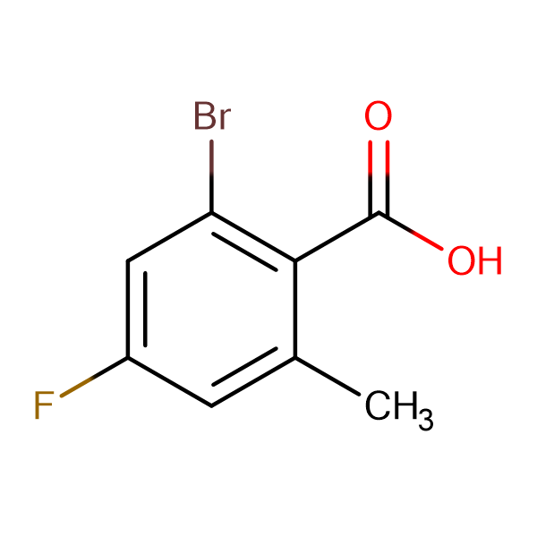 2-Bromo-4-fluoro-6-methylbenzoic acid