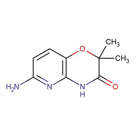 6-Amino-2,2-dimethyl-2H-pyrido[3,2-b] [1,4]oxazin-3[4H]-one