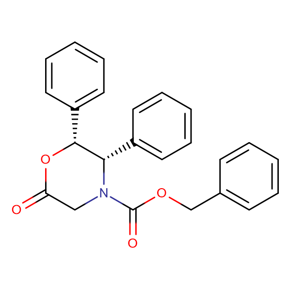 (2R,3S)-Benzyl 6-oxo-2,3-diphenylmorpholine-4-carboxylate