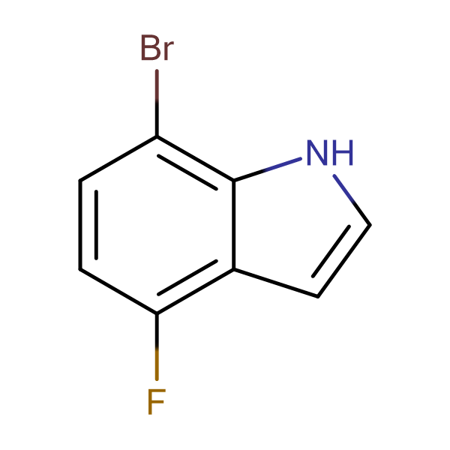 7-Bromo-4-fluoro-1H-indole