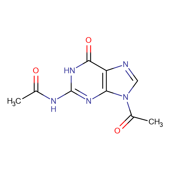 N-(9-Acetyl-6-oxo-6,9-dihydro-1H-purin-2-yl)acetamide