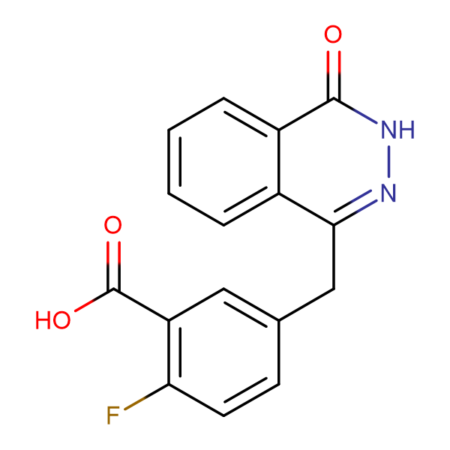 2-Fluoro-5-((4-oxo-3,4-dihydrophthalazin-1-yl)methyl)benzoic acid