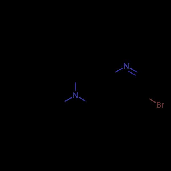 6-Benzyl-3-bromo-5,6,7,8-tetrahydro-1,6-naphthyridine