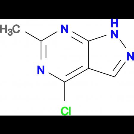4-Chloro-6-methyl-1H-pyrazolo[3,4-d]pyrimidine