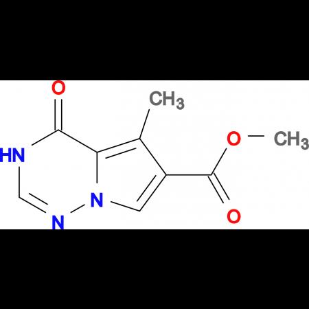 Methyl 5-methyl-4-oxo-3,4-dihydropyrrolo[2,1-f][1,2,4]triazine-6-carboxylate