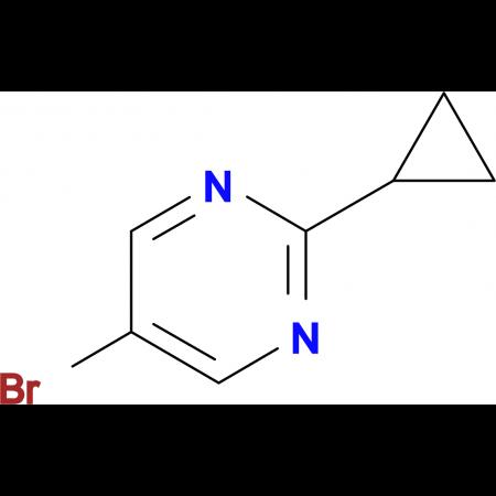 5-Bromo-2-cyclopropylpyrimidine