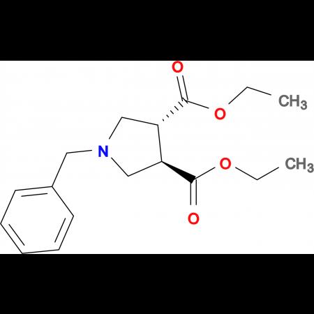 Diethyl (3R,4R)-1-benzylpyrrolidine-3,4-dicarboxylate
