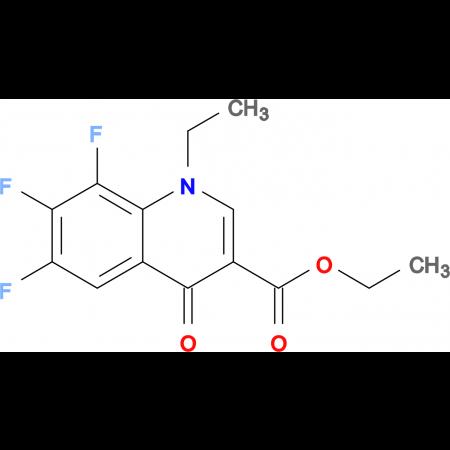 Ethyl 1-ethyl-6,7,8-trifluoro-4-oxo-1,4-dihydroquinoline-3-carboxylate