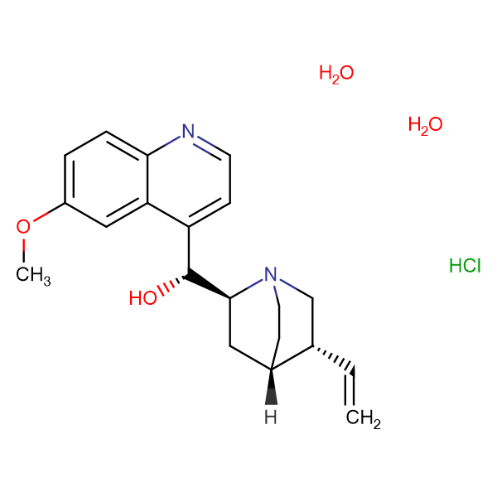 Quinine hydrochloride dihydrate