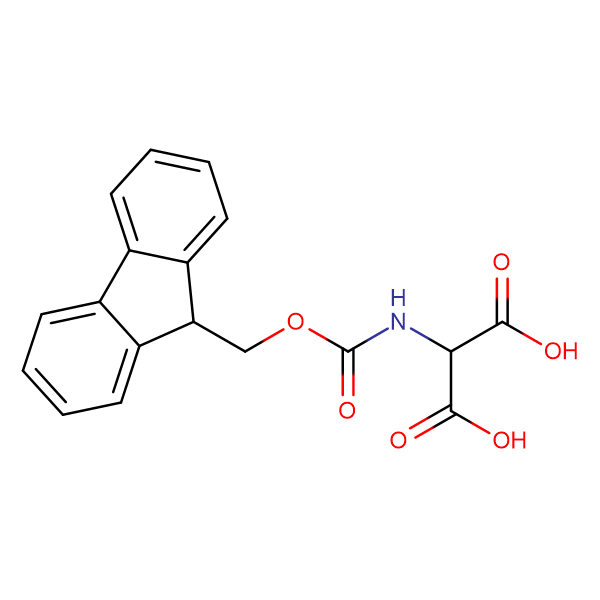 2-((((9H-Fluoren-9-yl)methoxy)carbonyl)amino)malonic acid
