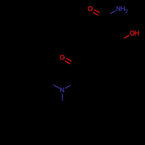 5-(2-(Dibenzylamino)acetyl)-2-hydroxybenzamide