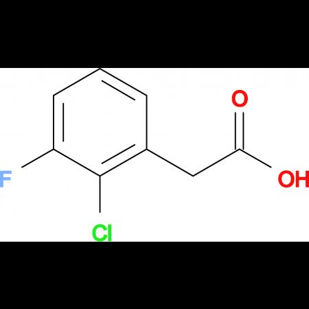 2-(2-Chloro-3-fluorophenyl)acetic acid