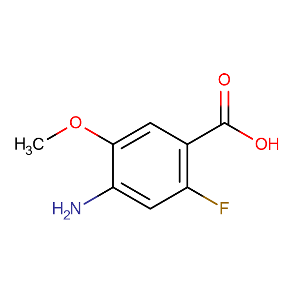 4-Amino-2-fluoro-5-methoxybenzoic acid