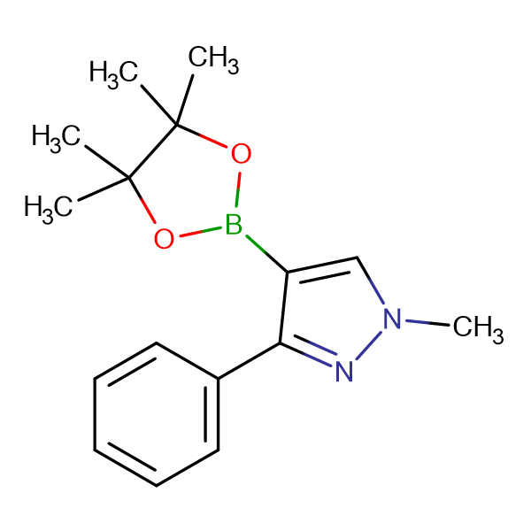 1-Methyl-3-phenyl-4-(4,4,5,5-tetramethyl-1,3,2-dioxaborolan-2-yl)-1H-pyrazole