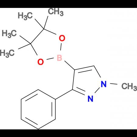 1-Methyl-3-phenyl-4-(4,4,5,5-tetramethyl-1,3,2-dioxaborolan-2-yl)-1H-pyrazole