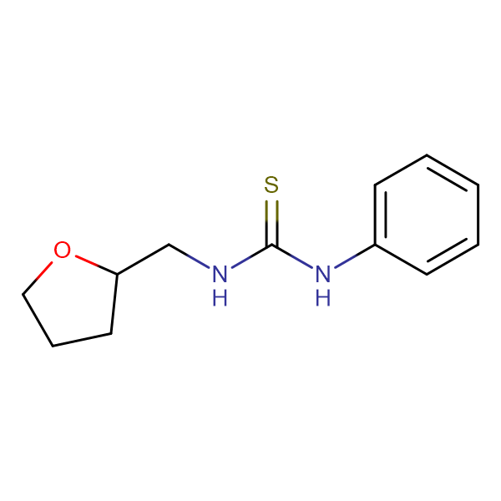 1-Phenyl-3-((tetrahydrofuran-2-yl)methyl)thiourea