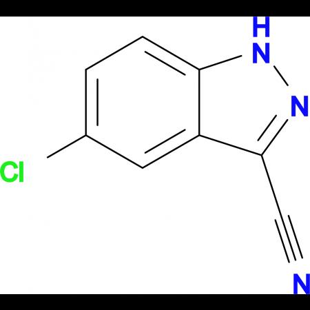 5-Chloro-1H-indazole-3-carbonitrile