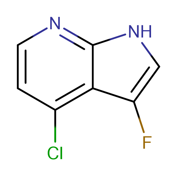4-Chloro-3-fluoro-1H-pyrrolo[2,3-b]pyridine