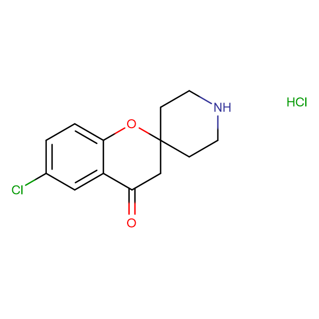 6-Chlorospiro[chroman-2,4'-piperidin]-4-one hydrochloride