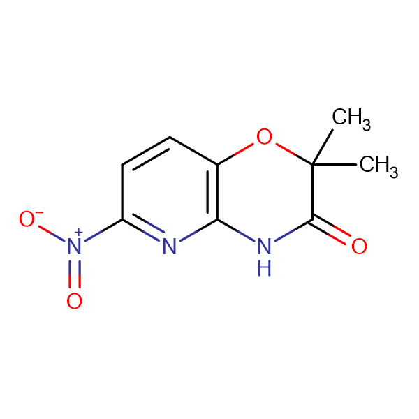 2,2-Dimethyl-6-nitro-2H-pyrido[3,2-b][1,4]oxazin-3(4H)-one