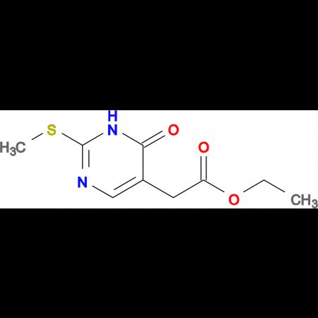 Ethyl 2-(2-(methylthio)-6-oxo-1,6-dihydropyrimidin-5-yl)acetate