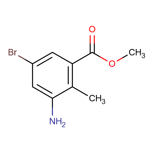 Methyl 3-amino-5-bromo-2-methylbenzoate