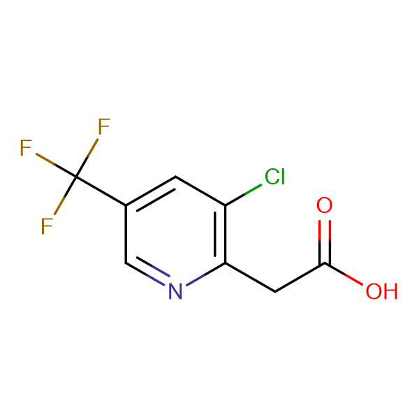 2-(3-Chloro-5-(trifluoromethyl)pyridin-2-yl)acetic acid