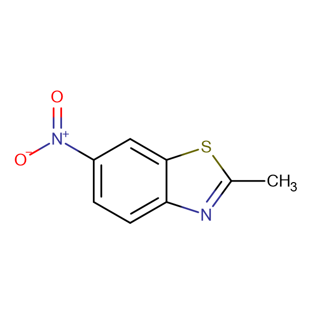 2-Methyl-6-nitrobenzothiazole