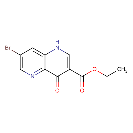 Ethyl 7-bromo-4-oxo-1,4-dihydro-1,5-naphthyridine-3-carboxylate