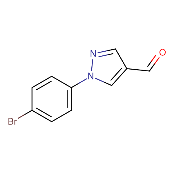 1-(4-Bromophenyl)-1H-pyrazole-4-carbaldehyde