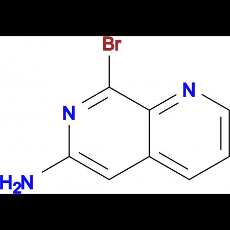 6-Amino-8-bromo-1,7-naphthyridine