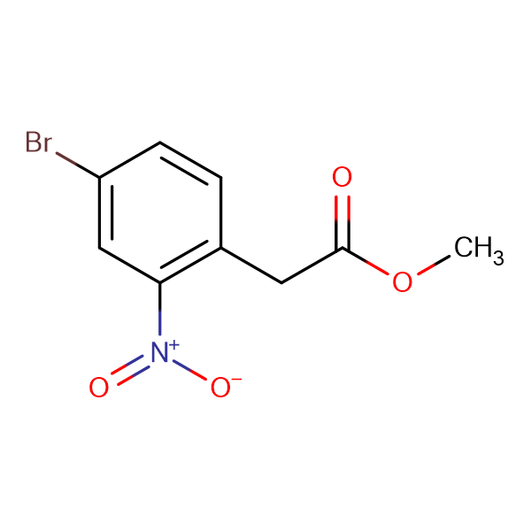 Methyl 2-(4-bromo-2-nitrophenyl)acetate
