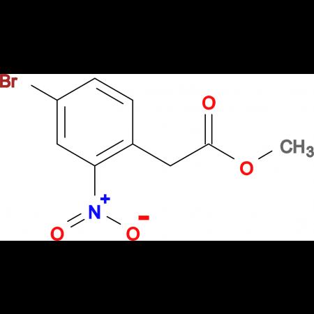 Methyl 2-(4-bromo-2-nitrophenyl)acetate