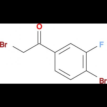 2-Bromo-1-(4-bromo-3-fluorophenyl)ethanone