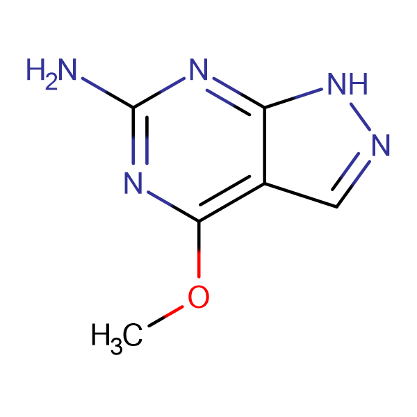 4-Methoxy-1H-pyrazolo[3,4-d]pyrimidin-6-amine