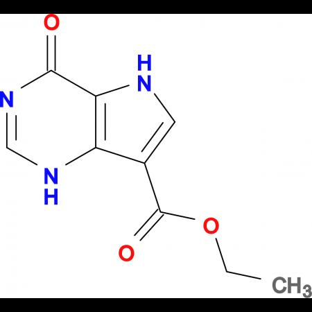 Ethyl 4-oxo-4,5-dihydro-1H-pyrrolo[3,2-d]pyrimidine-7-carboxylate