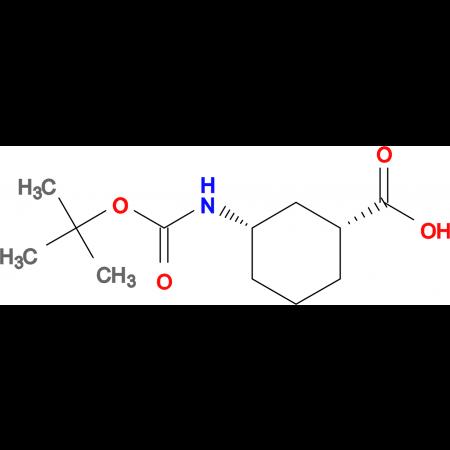 (1R,3S)-3-Boc-Amino-cyclohexanecarboxylic acid