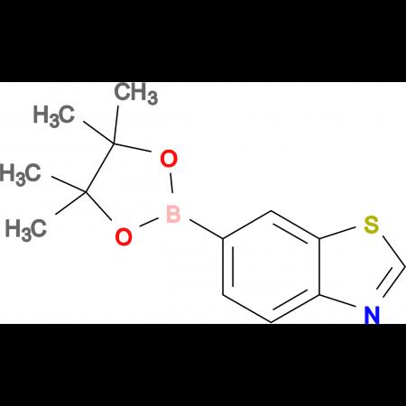 6-(4,4,5,5-Tetramethyl-1,3,2-dioxaborolan-2-yl)benzo[d]thiazole